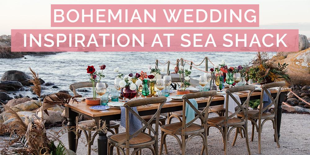 Bohemian Wedding Inspiration at Sea Shack