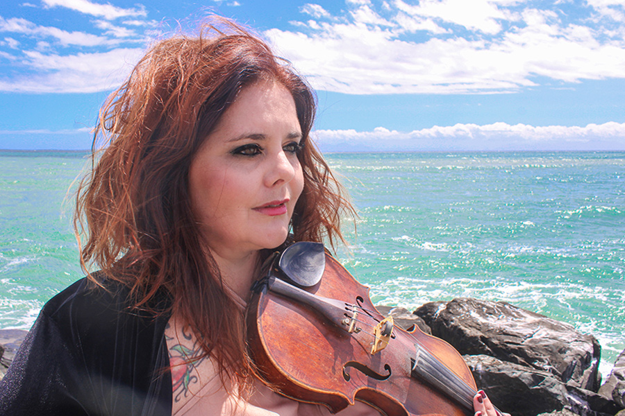 Larah Eksteen Violinist - Entertainment Cape Town