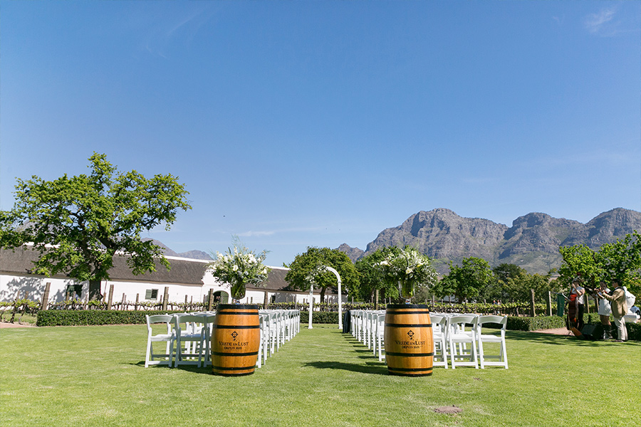 Vrede en Lust Wine Estate - Wedding Venues Franschhoek