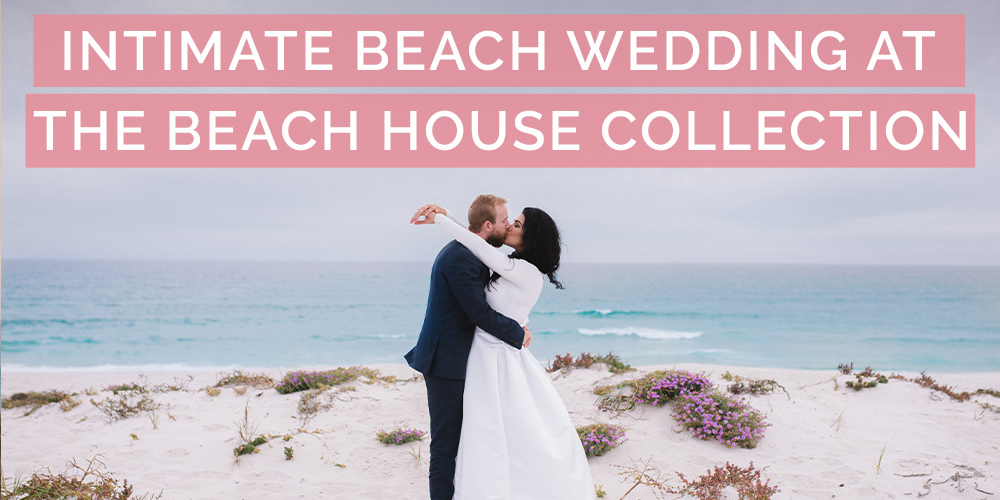 intimate beach wedding beach house collection pink book feature