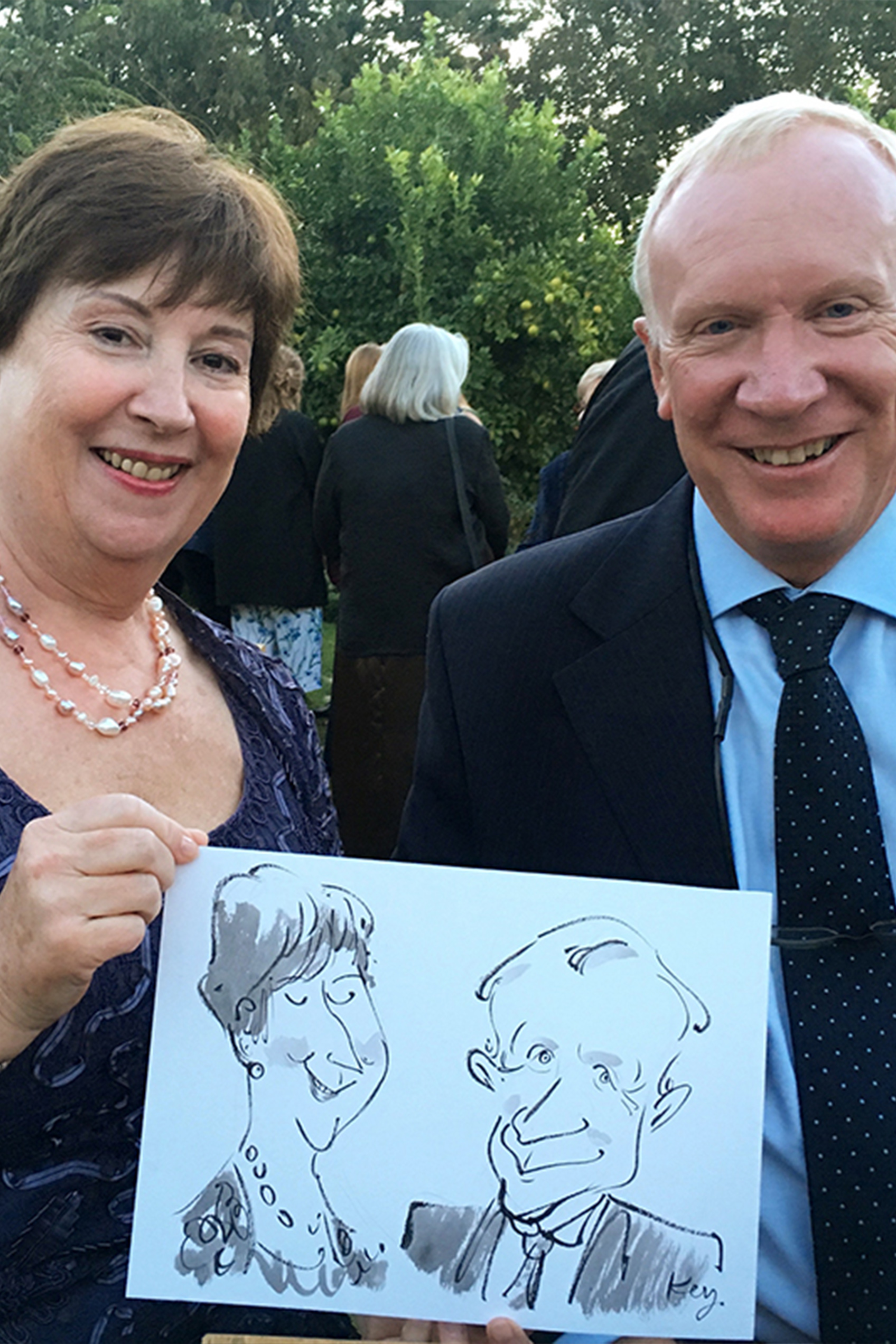 Ted Key Events Illustration & Caricatures