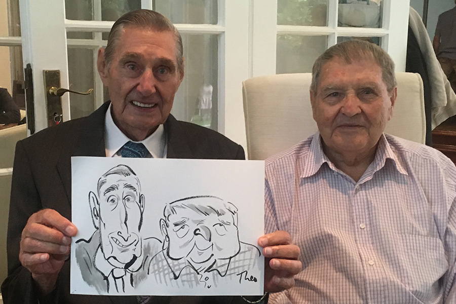 Ted Key Events Illustration & Caricatures - Entertainment Cape Town