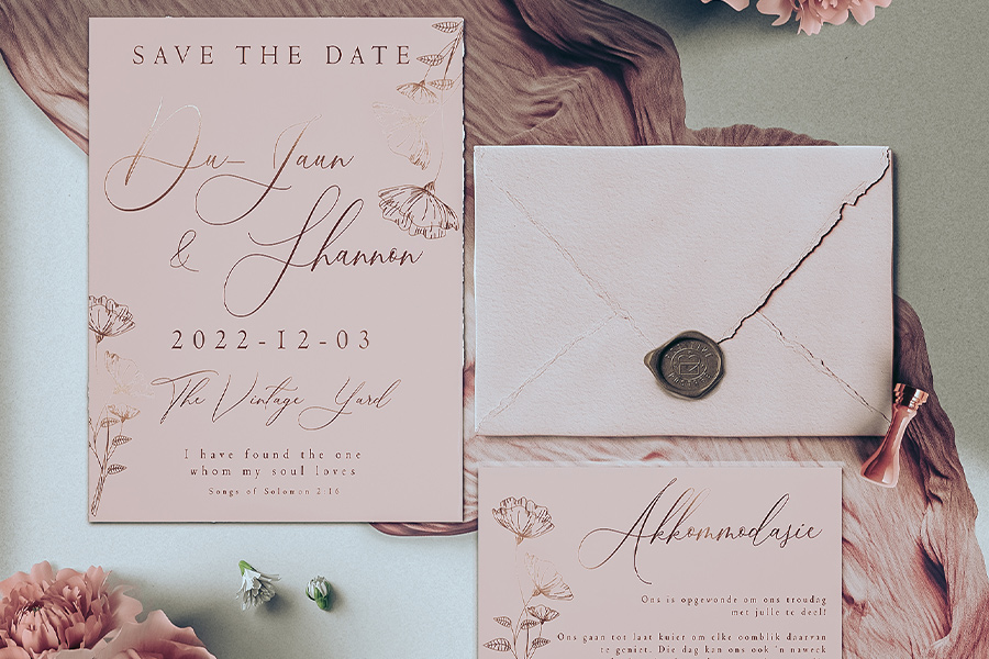 Stuck On You Favours and Design - Invitations & Stationery Cape Town
