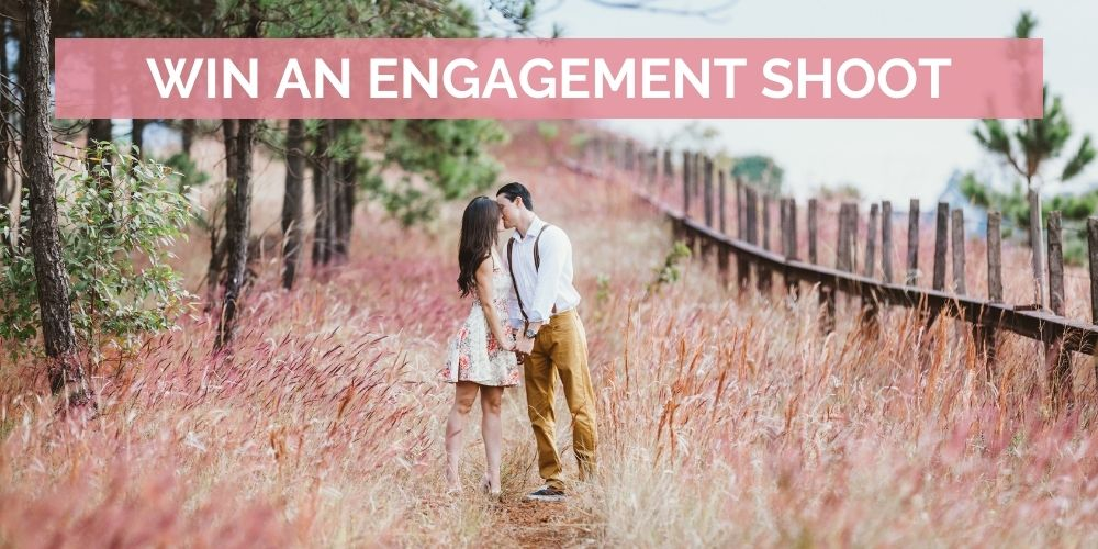 engagement shoot in cape winelands
